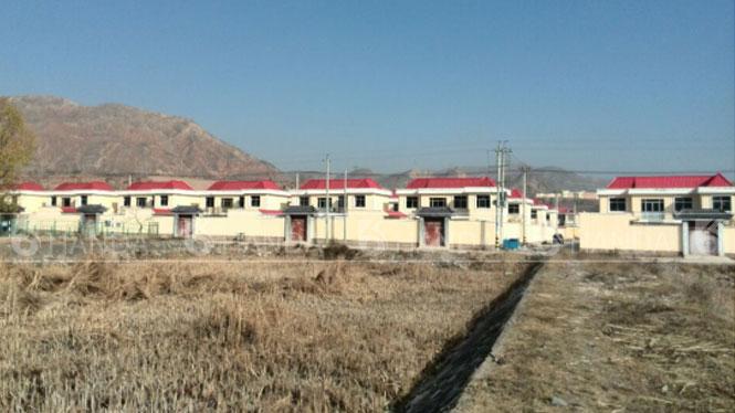 甘肃临夏州大河家新农村改造项目