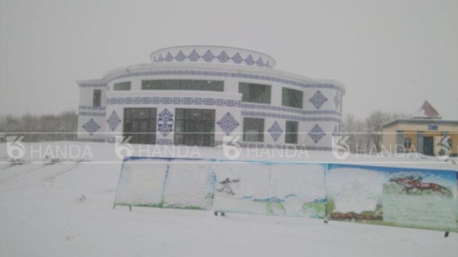 新疆伊犁州昭苏白马服务区