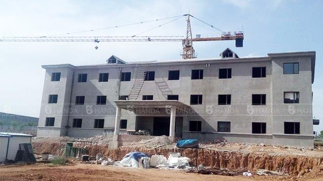 辽宁朝阳工业园区办公楼项目